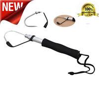 Telescopic Retractable Fish Steel Ice Sea Fishing Spear Tackle Hook Portable