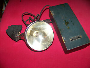 Winchester Spotlamp Miner Or Hunter Head Band Mounting Battery Power 1920s