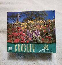 2002 Hasbro MB Nature's Garden 500 Piece Puzzle Coxley NIB