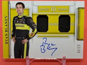 Ryan Blaney  2020 National Treasures Race Gear Holo Graphs Auto #22/25