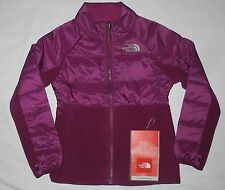 NWT girls The NORTH FACE fleece INSULATED BORDON jacket XXS 5 NEW Premier Purple