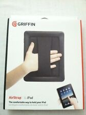Griffin Airstrap Black Case For iPad Original 1st Gen GB01759 w/Hand Strap NEW