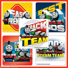 Thomas the Tank Engine Stickers x 5 - Steam Train Team - Birthday Favours Loot