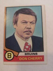 1974-75 TOPPS DON CHERRY
