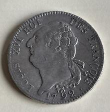 ECU DE 6 Livres FRANCOIS 1792 A - ECU LOUIS XVI 1792 A -  L'an 4 DE La Liberté -