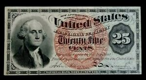 March 3rd, 1863 25 Cents Fractional Currency Nice Color