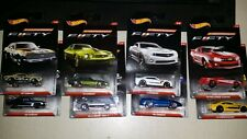 SET OF 8 COMPLETE COLLECTION HOT WHEELS CAMARO 50TH ANNIVERSARY FIFTY SERIES CAR