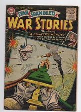 DC COMICS  STAR SPANGLED WAR STORIES  41  1956  SUPERMAN CHRISTMAS CENTERFOLD AD
