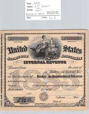 BILLET USA - 2 40/100 DOLLARS - 1886 - MARCHAND DE TABACS - Tobacco