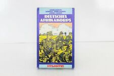 Atlantic 1/72 HO scale soldiers Figurines Deutsches AfrikaKorps 4056