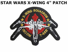 """Star Wars X-Wing Squadron Incom T-65B Embroidered 4"""" Patch US Seller"""