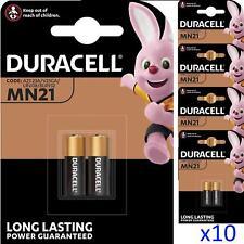 10 x Duracell MN21 A23 12V Security Alkaline Battery 23A LRV08 Expiry 2024