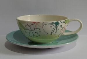 Portmeirion Crazy Daisy Cup and Saucer - Please Read