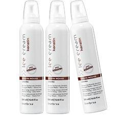 Keratin Restructuring Mousse 3 x 250ml with Ceramides Ice Cream Inebrya ®