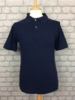 LACOSTE MENS UK XS MARINE CLASSIC POLO SHIRT SHORT SLEEVES DESIGNER RRP £75