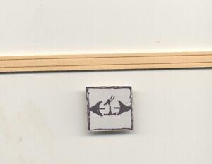 WINDOW & DOOR TRIM #7041 dollhouse Apron Casing 1pc miniature molding 1/12 scale