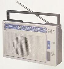 Vintage Sony ICF-700W AM/FM Radio Dealer Sheet