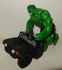 Figurine articulée L'Incroyable HULK et Jeep MARVEL Movie 2003
