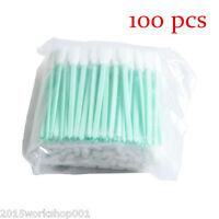 100pcs/LOT Cleaning Swabs for Epson Roland Mimaki Mutoh Printers