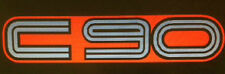 HONDA C90 STEP THROUGH SCOOTER PLAG PETROL TANK DECALS 2