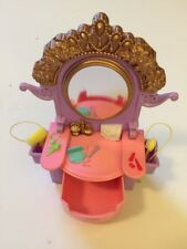 Fisher Price Purple Vanity Dresser Mirror Bedroom Loving Family Dollhouse FP Toy