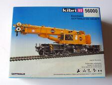 KIBRI HO H0 56000 KIT GOTTWALD Eisenbhan-Teleskopkran GS 100.06 T