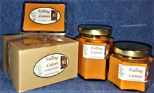 NEW Hand Poured Fall Autumn Scents Soy Candles, Tarts & Votives - Falling Leaves