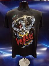 Vintage 80's Van Halen Kicks Ass Black Rock Metal Beast 5150 Tee T-Shirt XL