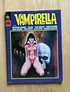 Vampirella #22 1976 FRENCH Frazetta Corben Neal Adams A.Toth Severin