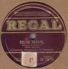 TRIO NUOVO - Celtic Parade / Happy Return 78 rpm disc