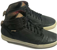 Vans OTW Leather High Tops US Men's Size 9 Vans Off the Wall Collection Shoes