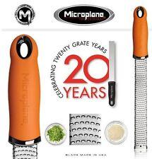 Grattugia Zester Arancio Serie Premium Microplane