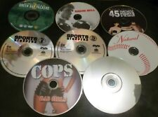 9 Sports Related Dvds - Raging Bull, Cinderella Man, The Natural ( Disc Only )