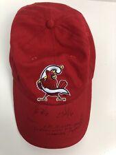 Springfield Cardinals vs Arkansas Travelers MiLB Baseball Cap Hat Signed