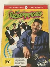 Fresh Prince of Bel-Air: The Complete First Season 5 Discs DVD Like New