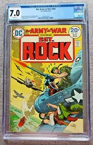 Our Army at War #266 CGC graded 7.0 FN/VF Mar 1974 20 cent Bronze Age DC Comics