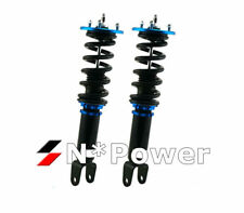 SYC ADJUSTABLE DAMPER COILOVERS Front PAIR FOR FORD FALCON BA BF XR6 XR8 UTE