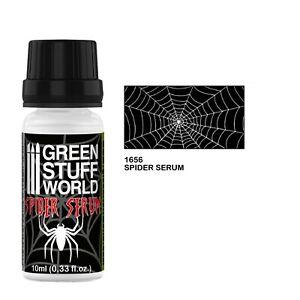 SPIDER SERUM 10 ml - plastic filaments spider web scenery dioramas airbrush
