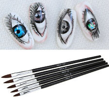 5Pcs Kolinsky Sable Brushes Acrylic Nail Brush Professional Nail Art Tool Set