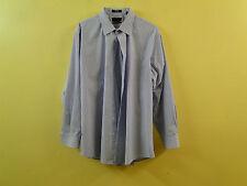 Nordstrom Men Traditional Fit Wrinkle Free Dress Shirt NO312006MN/Blue/18 1/2 36
