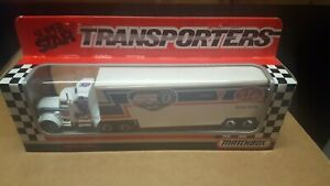 1992 Matchbox Richard Petty Tractor and Trailer Hauler 1/64 New in Box L@@K