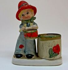 Little Drummer Boy 1978 Luvkins Jasco Christmas figurine with candle holder