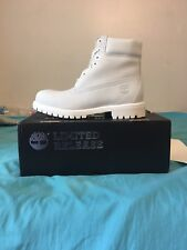 Timberland ghost white shoes boots size 10 limited edition
