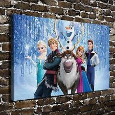 Disney Frozen Poster HD Print on Canvas Home Decor Paintings Wall Art Pictures