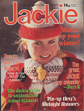 Jackie Magazine 8 January 1983 No. 992     Dexy's Midnight Runners    Kim Wilde