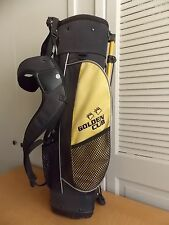 Golden Cub Golf Club Bag Youth Ages 5-9 Black & Yellow Golf Bag Only