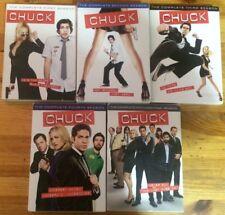 Chuck: Seasons 1-5 (DVDs)