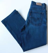 Women's Levis 512 Bootcut Jeans Size 6S Blue W25 L25 Perfectly Slimming 32S