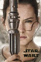 STAR WARS EPISODE VII: THE FORCE AWAKENS MOVIE POSTER, Size  22x34