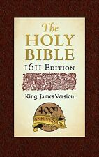 The Holy Bible King James version 1611 Edition, New, Free Shipping
